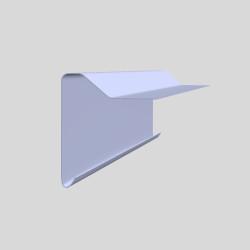 B260 GRP Cure It kantprofiler til brug med Cure It fladt tagsystem