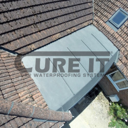 An Example of a finished Cure It GRP Flat Roof