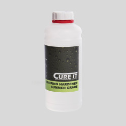 Cure It Roofing Hardener Summer Grade for Cure It GRP flat roof system