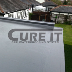 Finished Cure It GRP Flat Roofing System