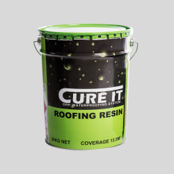 Cure It Roofing Resin for Cure It GRP flat roof system