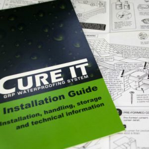 Cure It Installation Guide for laying a Cure It flat roof