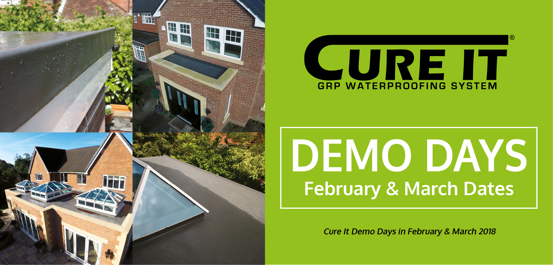 Cure It GRP Flat Roof System Training